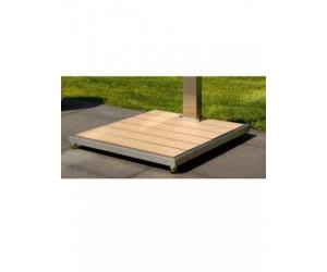 Ideal Bodenplatte für Solardusche (Saba/Kuba/Tobago/Trinidad)