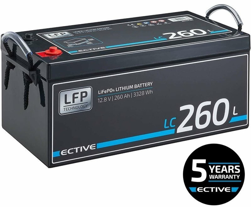 Ective Batteries LC260L 12V 260Ah