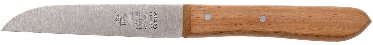 Windmühlenmesser Robert Herder Straight Classic Schälmesser Rotbuche 9,2 cm