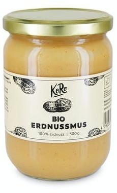 KoRo Bio Erdnussmus Pur (500g)