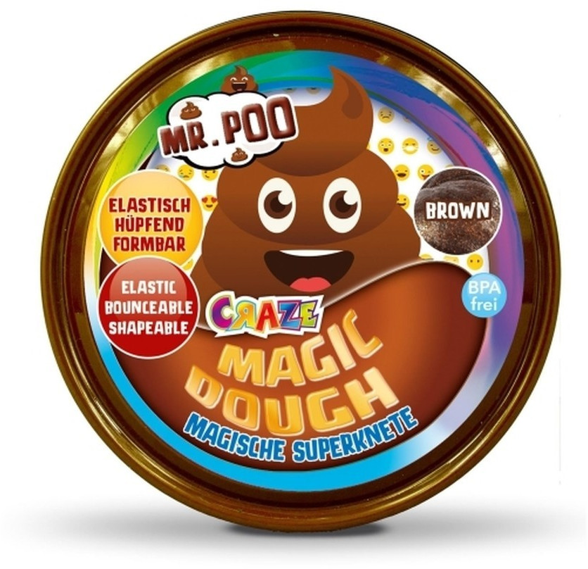 Craze Magische Superknete Magic Dough 80g Mr. Poo