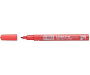 Pentel N50S Rundspitze fein rot (N50S-B)
