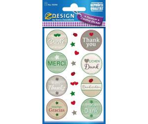 Avery Creative Geschenke-Sticker Danke  (55094)