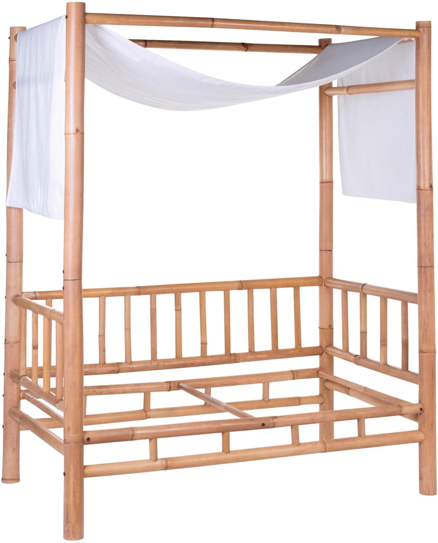 Childhome Betthimmel für Bambus Kinderbett weiß