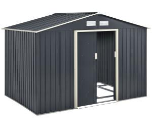 Juskys Metall Gerätehaus XL 277 x 191 cm