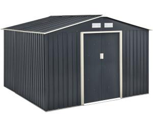 Juskys Metall Gerätehaus XXL 277 x 319 cm
