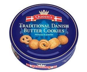 Queen's Dänische Butterkekse in Dose (500g)
