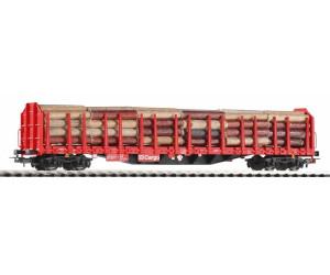 Piko Stammholztransportwagen Roos-t642 mit Holzladung (54339)