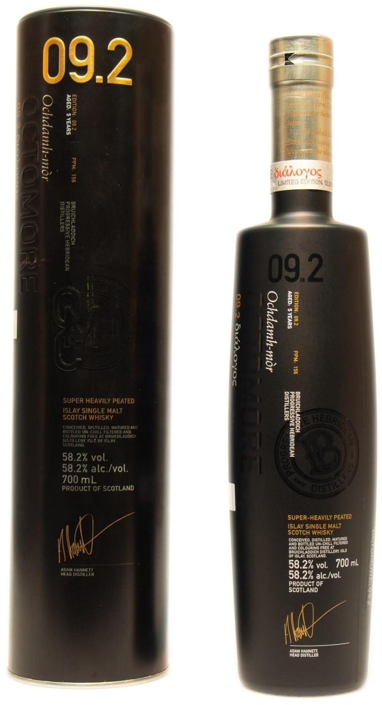 Bruichladdich Octomore 1 9.2 Islay Whisky 0,7l 58,2%