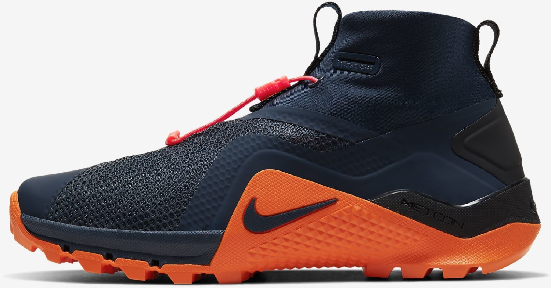 Nike MetconSF obsidian/magma orange/laser crimson/obsidian