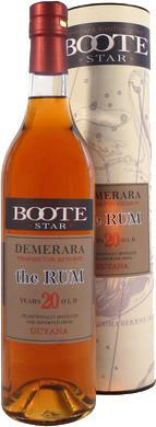 Dellavalle Boote Star Demerara 20 Jahre Guyana Rum