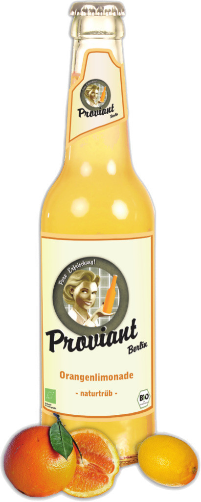 Proviant Orangenlimonade naturtrüb 0,33l