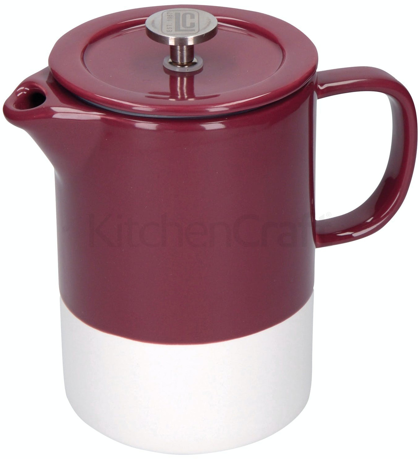 Image of La Cafetiere Barcelona 6 Cup Plum