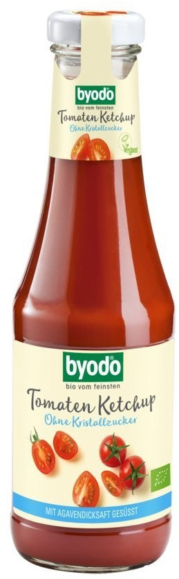 byodo Tomaten Ketchup bio ohne Kristallzucker  (500ml)
