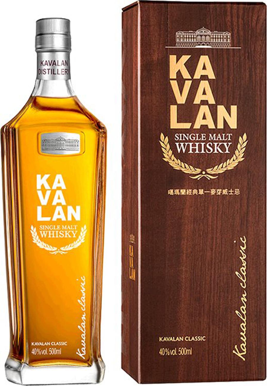 Kavalan Single Malt Whisky 40% 0,5l