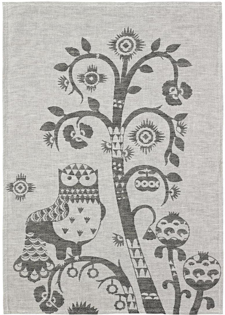 iittala Taika Geschirrtuch 47 x 70cm Grau
