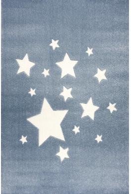 ScandicLiving Teppich Sterne blau (120 x 180 cm)