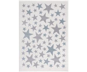 Livone Happy Rugs Stella creme/silbergrau/blau (160 x 230 cm)