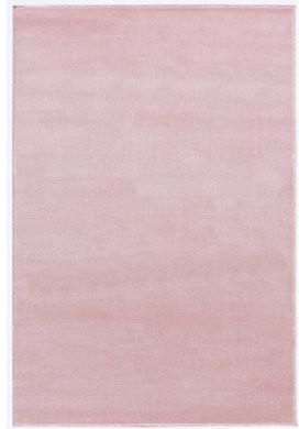 Livone Happy Rugs Uni rosa (160 x 230 cm)