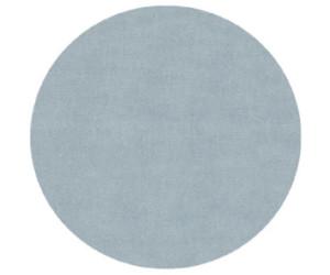 Livone Happy Rugs Uni Rund (ø 133 cm) blau