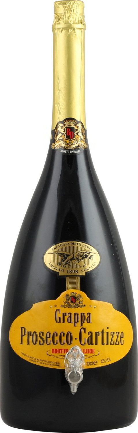 Brotto Grappa Prosecco Cartizze 3,0l 42 %