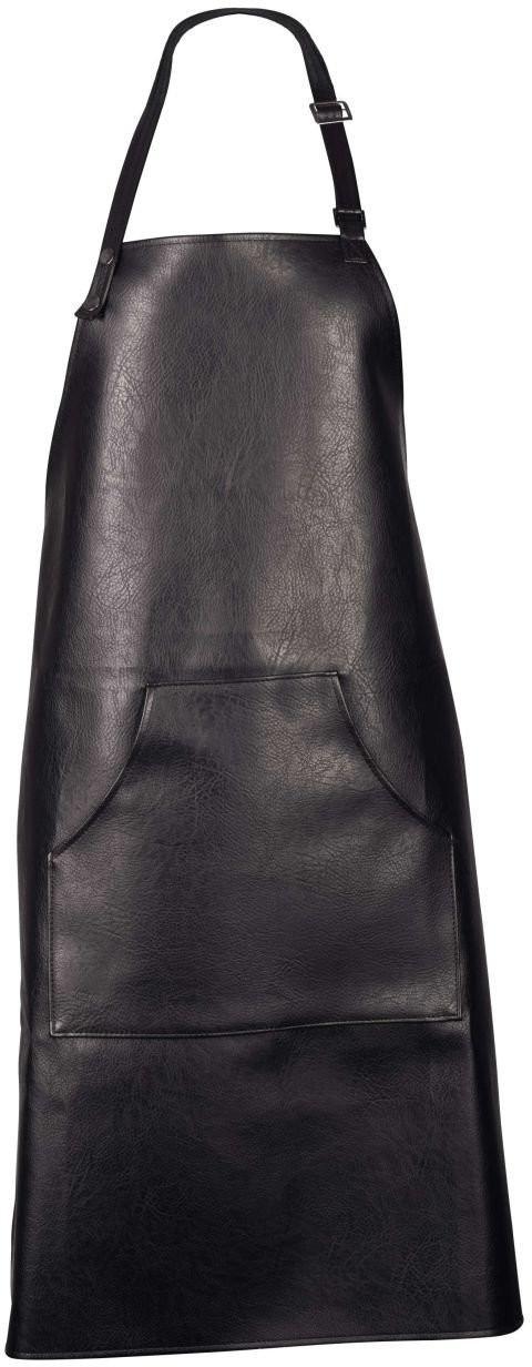 ASA PVC Kochschürze - schwarz - 90x82 cm