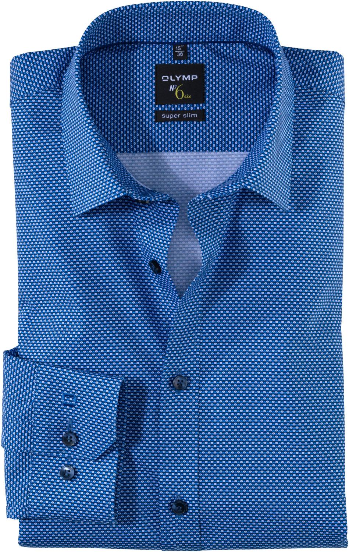 OLYMP No. Six Shirt Super Slim Urban Kent (251054)