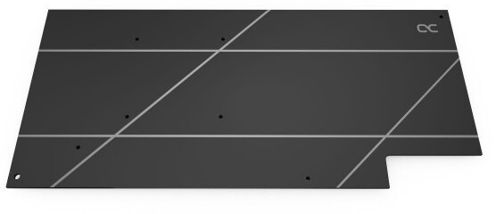 Image of Alphacool Alphacool Eisblock Aurora Backplate GPX-A AMD Radeon RX 5700/5700XT