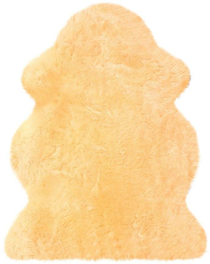 Heitmann Felle Fellteppich 68 x 100 cm beige