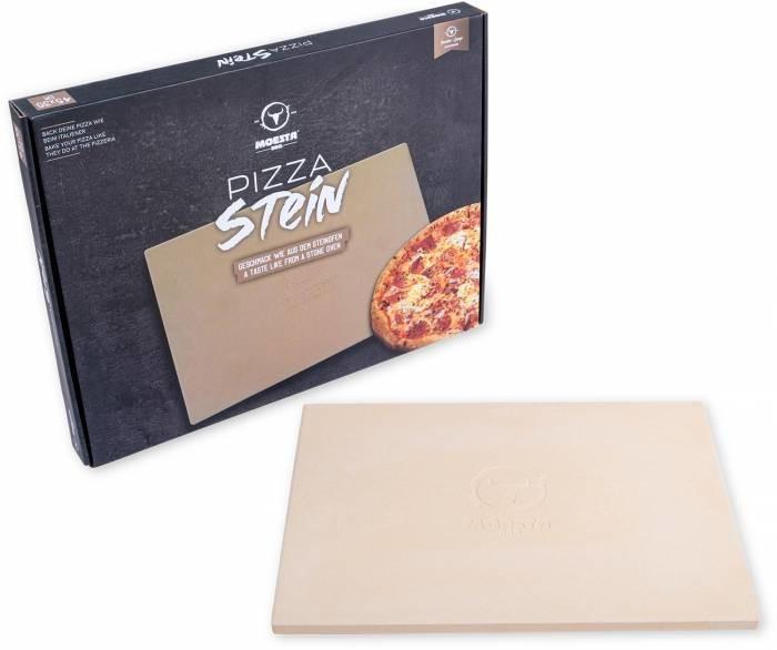 Moesta-BBQ Pizzastein mit Stier 35 x 45 cm