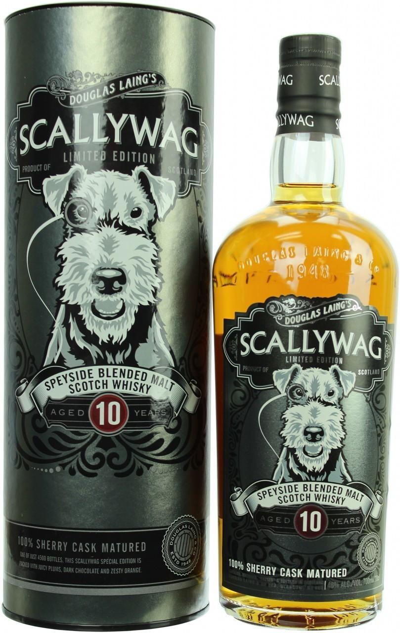 Douglas Laing's Scallywag Speyside 10 YO  Blended Whisky 46% 0,70l