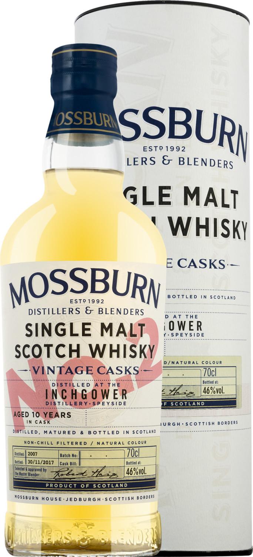 Inchgower 10 YO Vintage Cask 2 Whisky 46% 0,70l