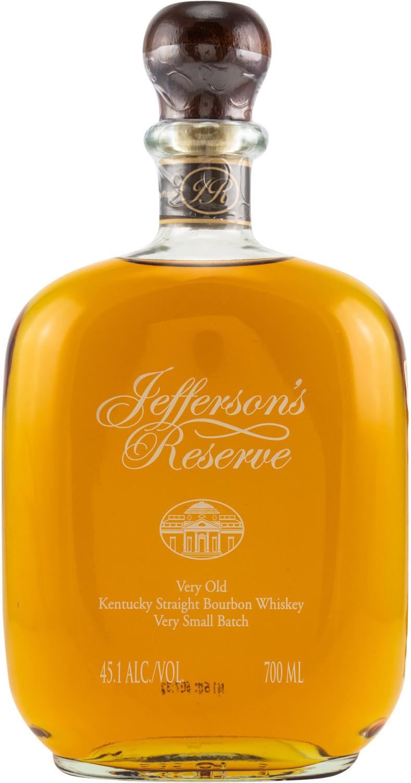 Jefferson's Reserve Bourbon Whiskey 45,1% 0,70l