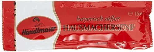 Händlmaier Hausmachersenf  süß Portionsbeutel (15ml)