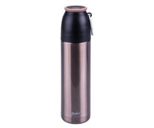 Steuber Thermo Trinkflasche m. Karabiner 500 ml gold
