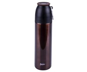 Steuber Thermo Trinkflasche m. Karabiner 500 ml braun