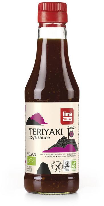 Lima Teriyaki Sauce Bio (250 ml)