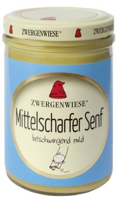 Zwergenwiese Mittelscharfer Senf (160ml)