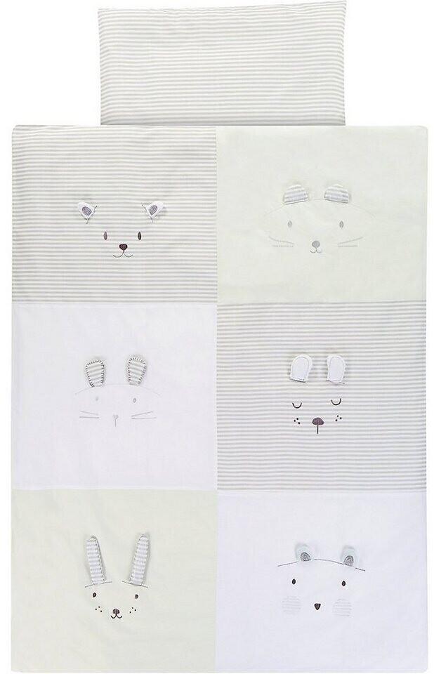 Alvi Bettwäsche 100 x 135 cm Faces