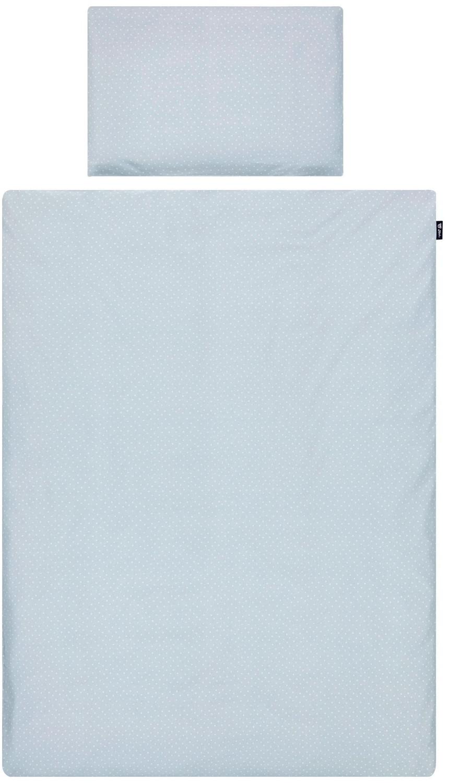 Alvi Bettwäsche 100 x 135 cm Shell blau