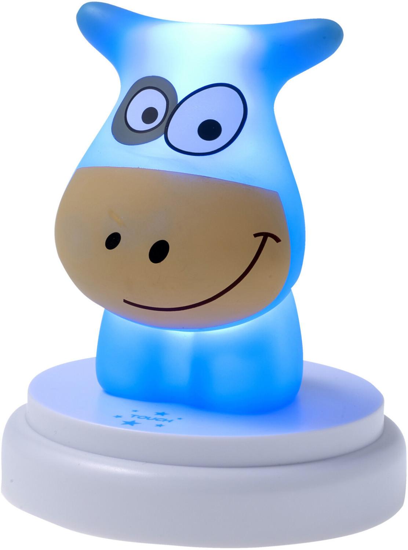 Alecto LED Nachtlicht Kuh blau