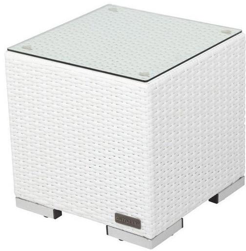 Outflexx Beistelltisch 40x40x40cm weiß