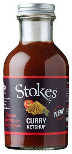 Stokes Curry Ketchup (257ml)