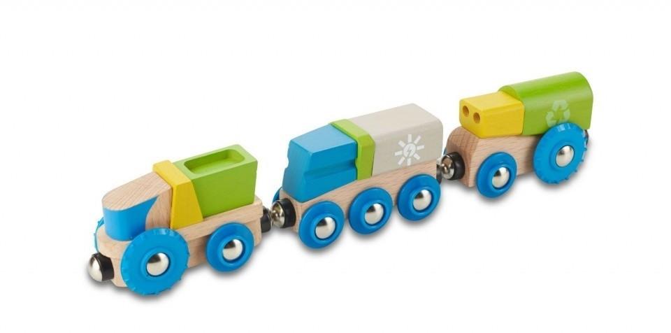 EverEarth Recycling-Eisenbahn (EE33656)