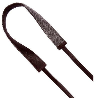 Image of Cecilia Camera Strap 2,5cm wide Alpaca Wool and Leather