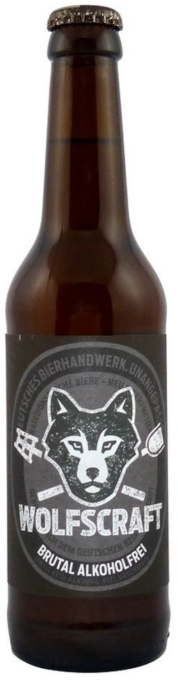Wolfscraft Brutal Alkoholfrei 0,33l