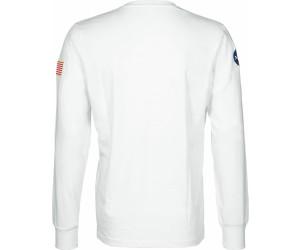 Alpha Industries Herren Longsleeve T-Shirt NASA weiß
