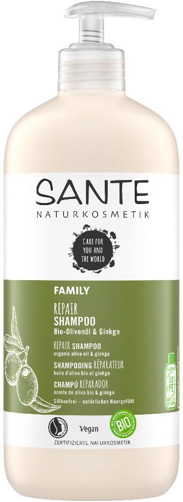Sante Repair Shampoo Olivenöl & Ginkgo (250 ml)