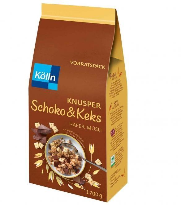 Kölln Hafer-Müsli Knusper Schoko & Keks (1,7kg)