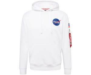Alpha Industries Space Shuttle Hoody white ab 67,41